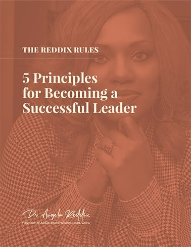 Cover for The Reddix Rules, 5 Principles for Becoming a Successful Leader