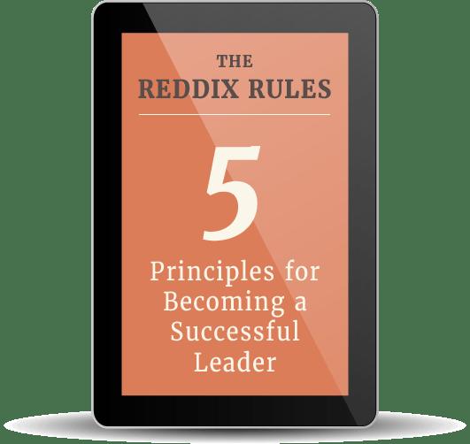 Dr. Angela D. Reddix Reddix Rules cover on a tablet