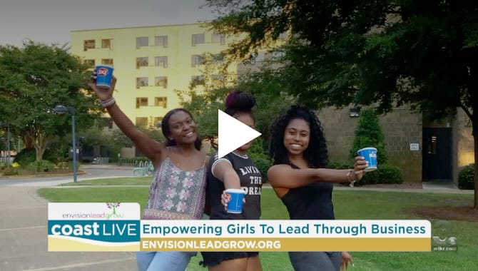 Dr. Angela Reddix appears on WTKR's Coast Live discussing Entrepreneurship to Empower the next generation of girls