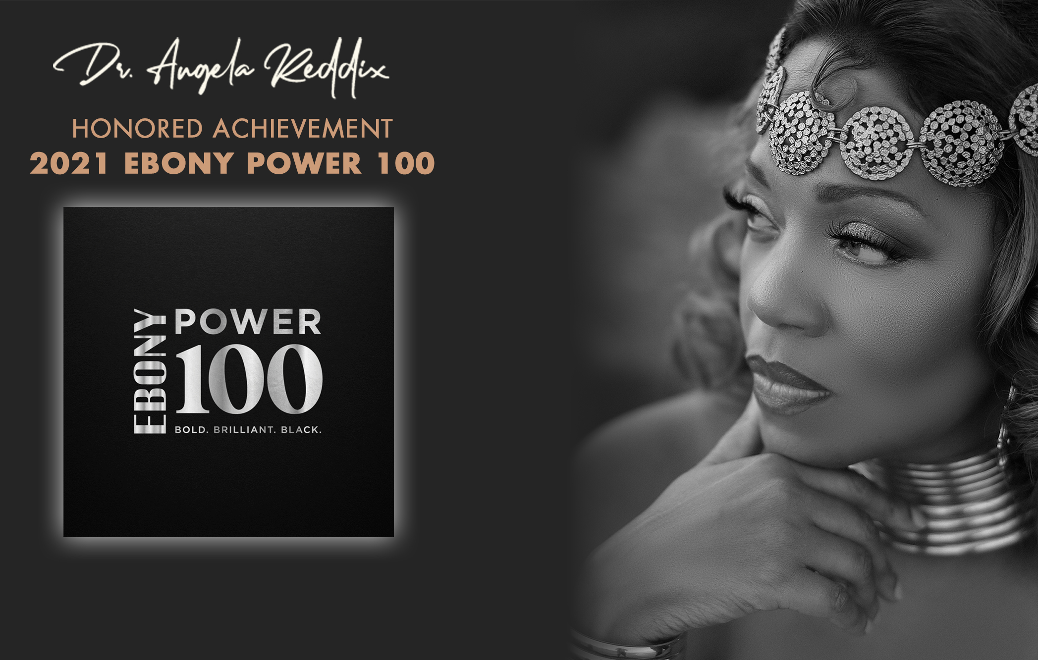 NEWS – This just in, Dr. Angela D. Reddix makes the Ebony Magazine Power 100 list